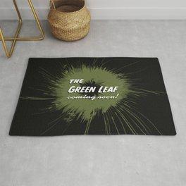 THE GREEN LEAF (English) Rug