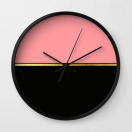 Minimalist Spring Wall Clock