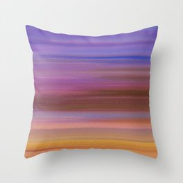 Astratto multicolore Throw Pillow