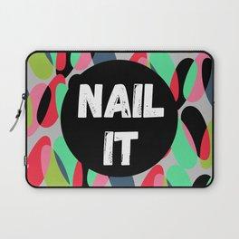 Nail It Laptop Sleeve