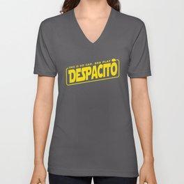 BB8 Play Despacito Unisex V-Neck