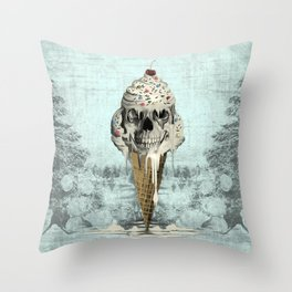 Eternally Sweet, Cremated Throw Pillow