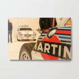 Martini Group B Lancias  Metal Print