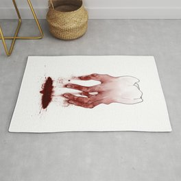 Tooth Fingers Rug