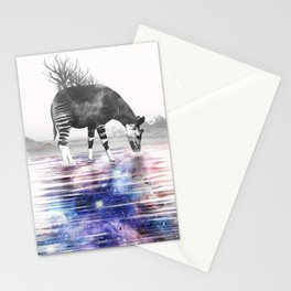 Okapi Drinking Space Stationery Cards