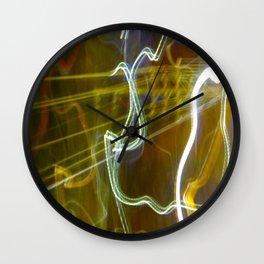 Dancing Energy (Kundalini Power) Wall Clock