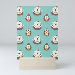 Holiday Warming (Patterns Please) Mini Art Print