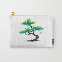 Blue Bonsai Carry-All Pouch