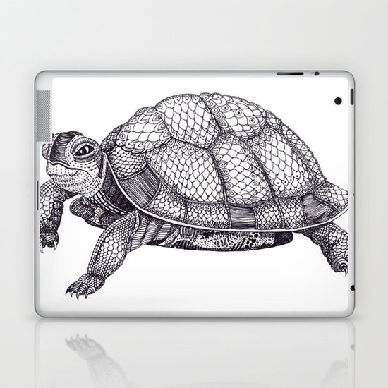 Turtle Pattern Laptop & iPad Skin