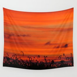 Sunset - Calm Warm Night Wall Tapestry