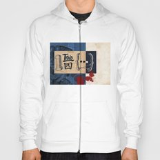 one and three quarters of things Hoody
