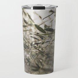 Olive Tree Leaves in the Mist Travel Mug