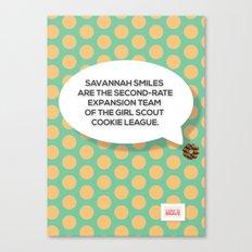 Savannah Smiles Canvas Print