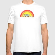 I Still Believe in Norman Lear's America Mens Fitted Tee SMALL White