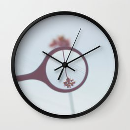 Palm Tree Magnified  Wall Clock