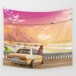 A time to reflect. Wall Tapestry