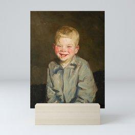 Frans Hals - A Boy - Renaissance Fine Art Retro Vintage Oil Painting Mini Art Print