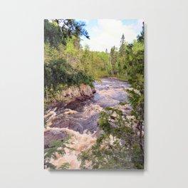 The Brule River Metal Print