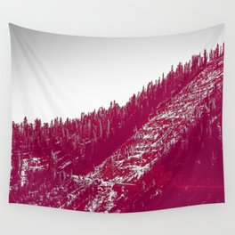A red velvet myst fogged his eyes but they were evergreen Wall Tapestry