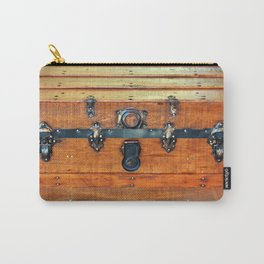 Antique Trunk Carry-All Pouch