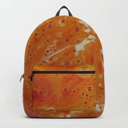 Orange Ink Backpack