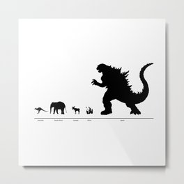 Animals of the World Metal Print