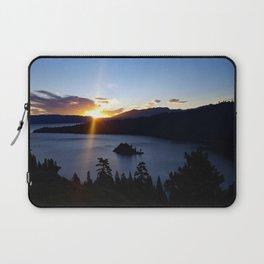Sunrise at Emerald Bay Laptop Sleeve