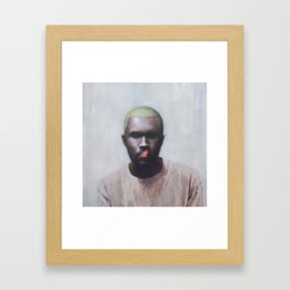 Blonde (Frank) Framed Art Print