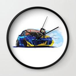 Japan meme drifters. Wall Clock