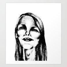 Grin Art Print
