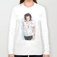 coconutwishes Long Sleeve T-shirts featuring Harry 1D tattoos T-shirt by Coconut Wishes