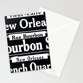 NEW ORLEANS FRENCH QUARTERS Stationery Cards
