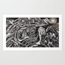 Mind Frame (Still Frame 1) Art Print