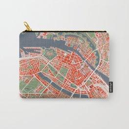 Copenhagen city map classic Carry-All Pouch