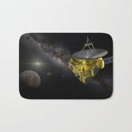 New Horizons approaching Pluto and Charon Bath Mat