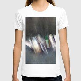 Duck Fight Digital Abstract T-shirt