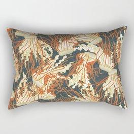 jellyfish slate Rectangular Pillow