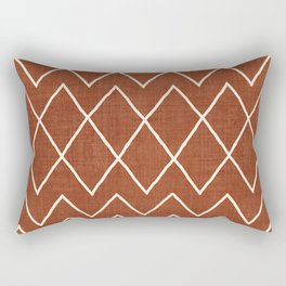 Avoca in Rust Rectangular Pillow
