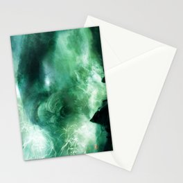 Silent Leaves Five Stationery Cards