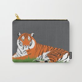 Laying Tiger Carry-All Pouch