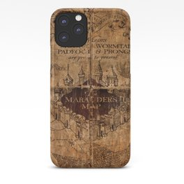 Marauders Map iPhone Case