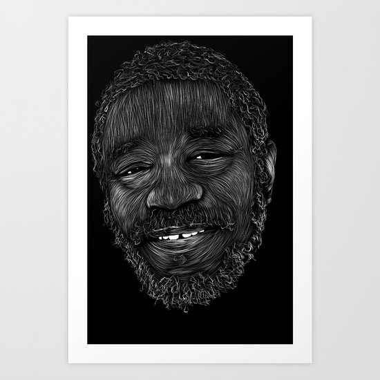 Horace Andy Art Print