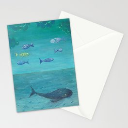 Over the sea Stationery Cards