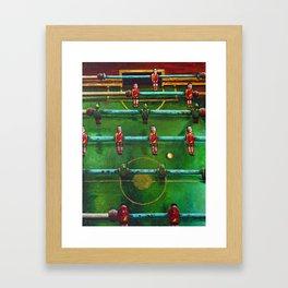 China v. Tibet Framed Art Print