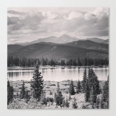Echo Lake, Colorado Canvas Print