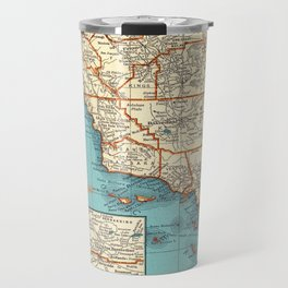 So Cal Surf Map Travel Mug