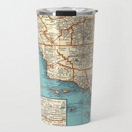 So Cal Surf Map Travel Mug