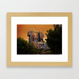 Guardians of the Galaxy: Mission Breakout at California Adventure Framed Art Print