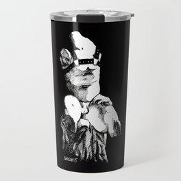 torso belvedere black Travel Mug