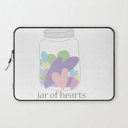 Jar of Hearts Laptop Sleeve
